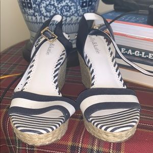 WORN ONCE wedges